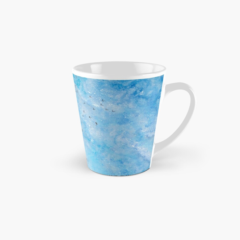 Along Fistral Beach, Newquay Cornwall Art Mug