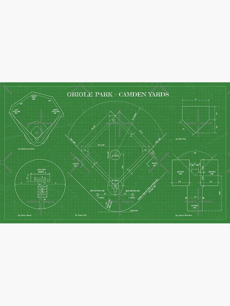 Baseball Field (Oriole Park-Camden Yards) by BGALAXY