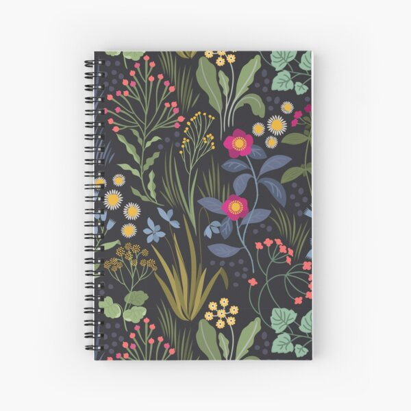 Botanical study Spiral Notebook
