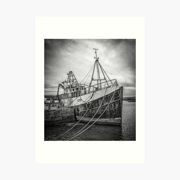 Aran Trawler Art Print