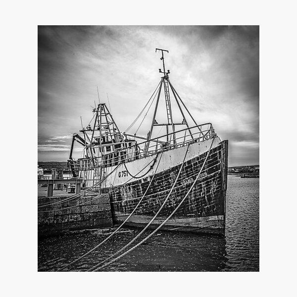 Aran Trawler Photographic Print