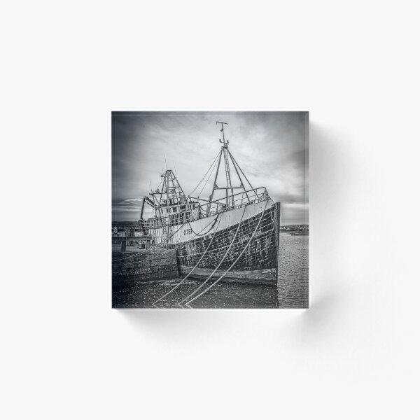 Aran Trawler Acrylic Block