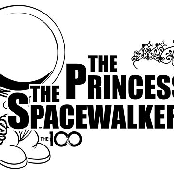 The 100 - The Princess & The Spacewalker by BadCatDesigns