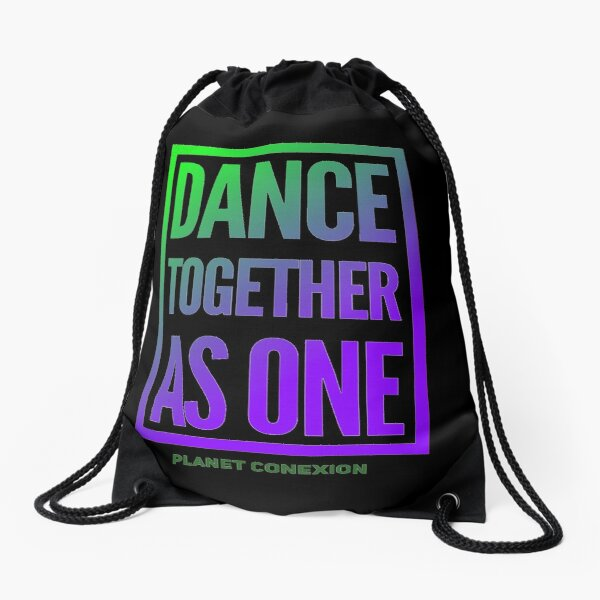 Dance Together As One Drawstring Bag