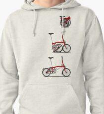 I Love My Folding Brompton Bike Pullover Hoodie