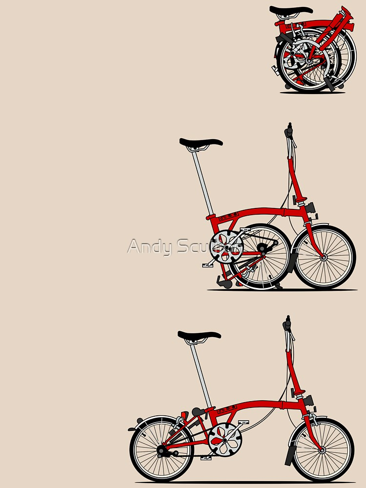 I Love My Folding Brompton Bike | Unisex T-Shirt