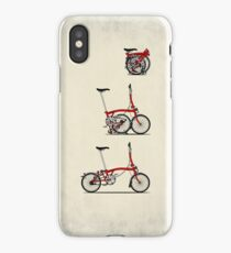 I Love My Folding Brompton Bike iPhone Case