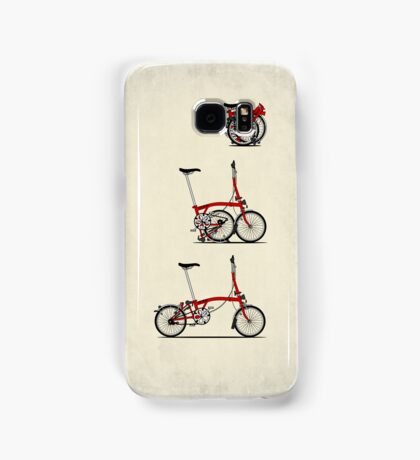 I Love My Folding Brompton Bike Samsung Galaxy Case/Skin