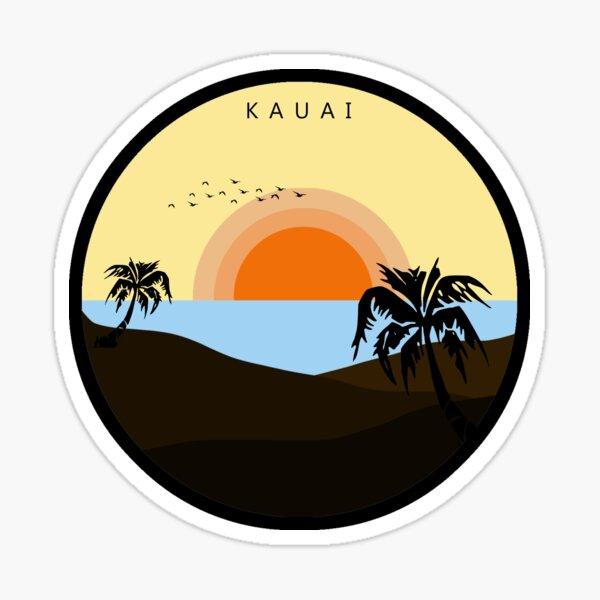 Childish Gambino - Kauai - Sticker Sticker