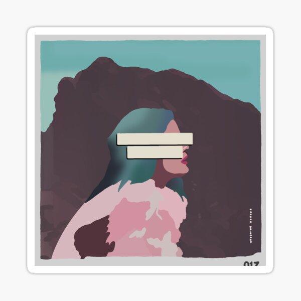 Halsey-Badlands Sticker