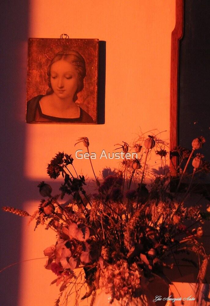 SUNSET IN MY LIVING ROOM by Gea Austen