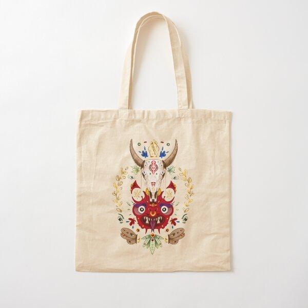 Totem Cotton Tote Bag
