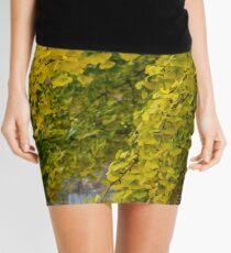 GINGKO TREE IN AUTUMN Mini Skirt