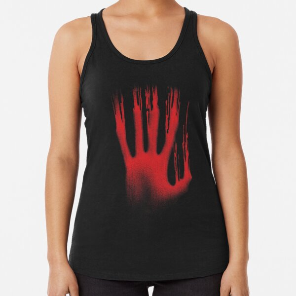 The Red Hand Racerback Tank Top