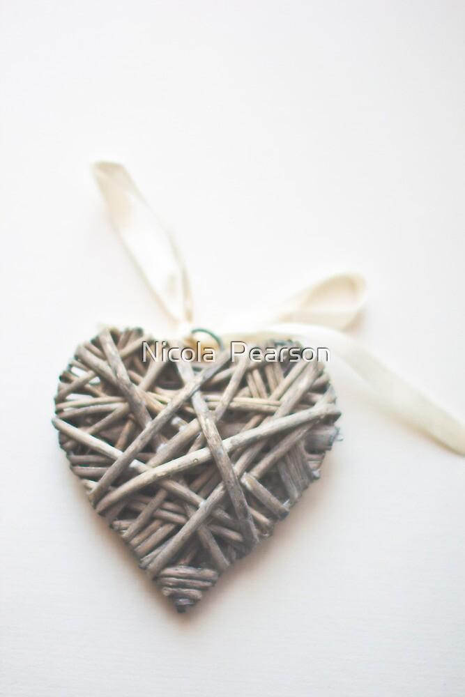 Wicker Heart  by Nicola  Pearson