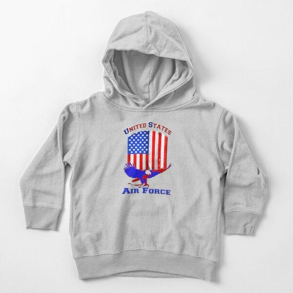 Fuerza Aérea de los Estados Unidos Sudadera con capucha para bebé