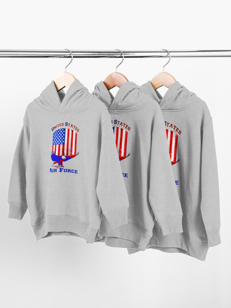Alternate view of United States Air Force Toddler Pullover Hoodie