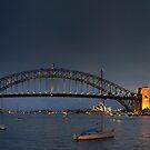 Sydney Harbour Bridge by Alfredo Estrella