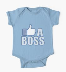 Like A Boss One Piece - Short Sleeve