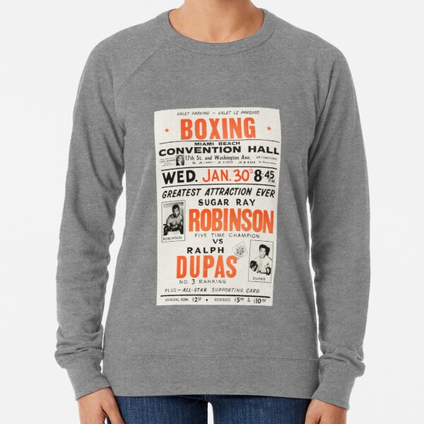 Boxing Poster and T-Shirt: Vintage Fistfighting Lightweight Sweatshirt
