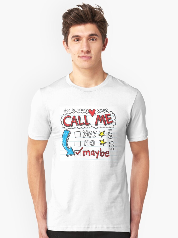 Call Me Maybe by DetourShirts