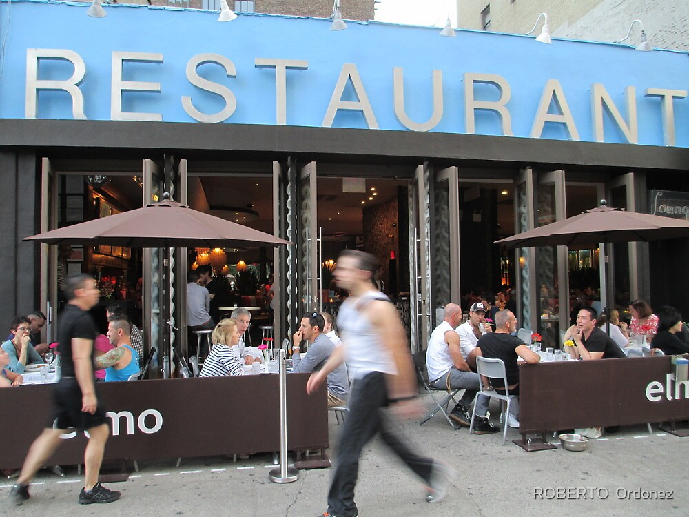 Restaurant by Robert Ordonez