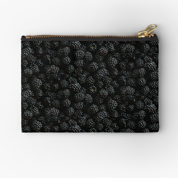 Darker The Berry Sweeter The Juice Zipper Pouch