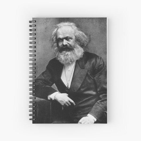 Karl Marx (best quality) Spiral Notebook