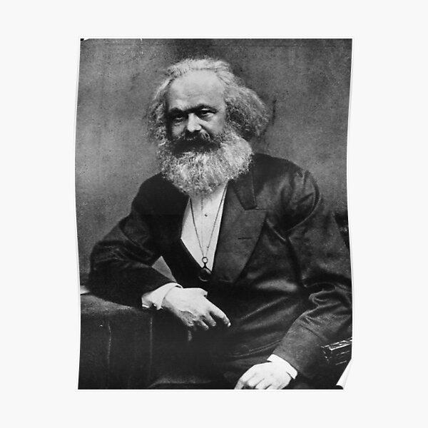 Karl Marx (beste Qualität) Poster