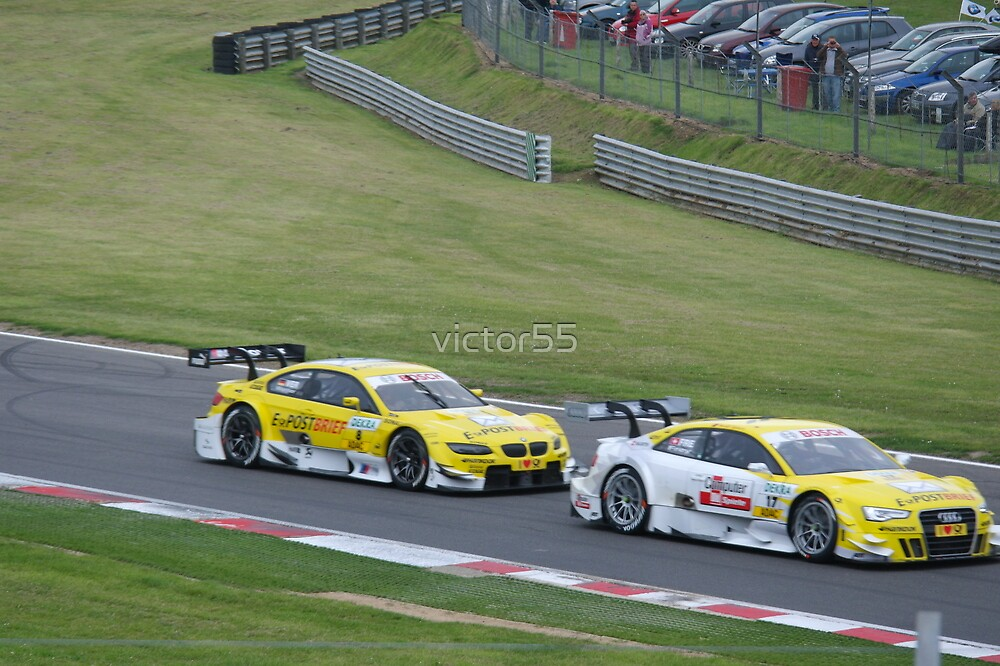DTM Racing Brands Hatch 2012 by victor55