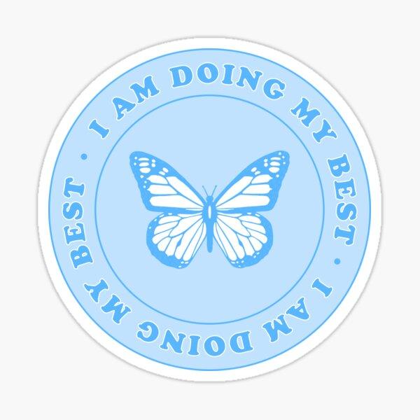 i am doing my best <3 Sticker