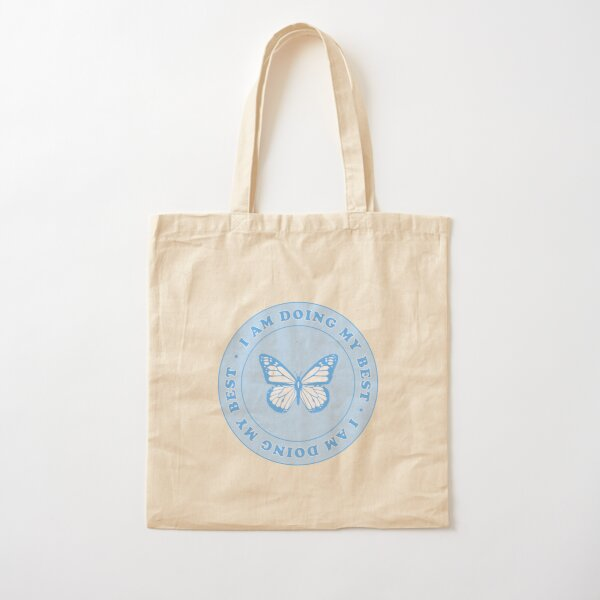 i am doing my best <3 Cotton Tote Bag