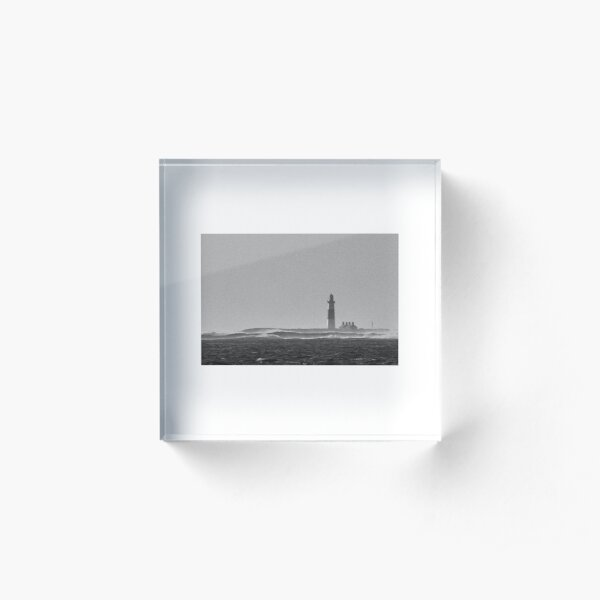 Lighthouse on Iniseer, Aran Islands. Acrylic Block