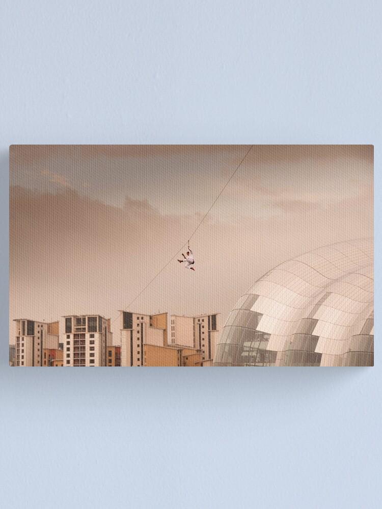 Alternate view of Zip Wire - Bear Grylls Canvas Print