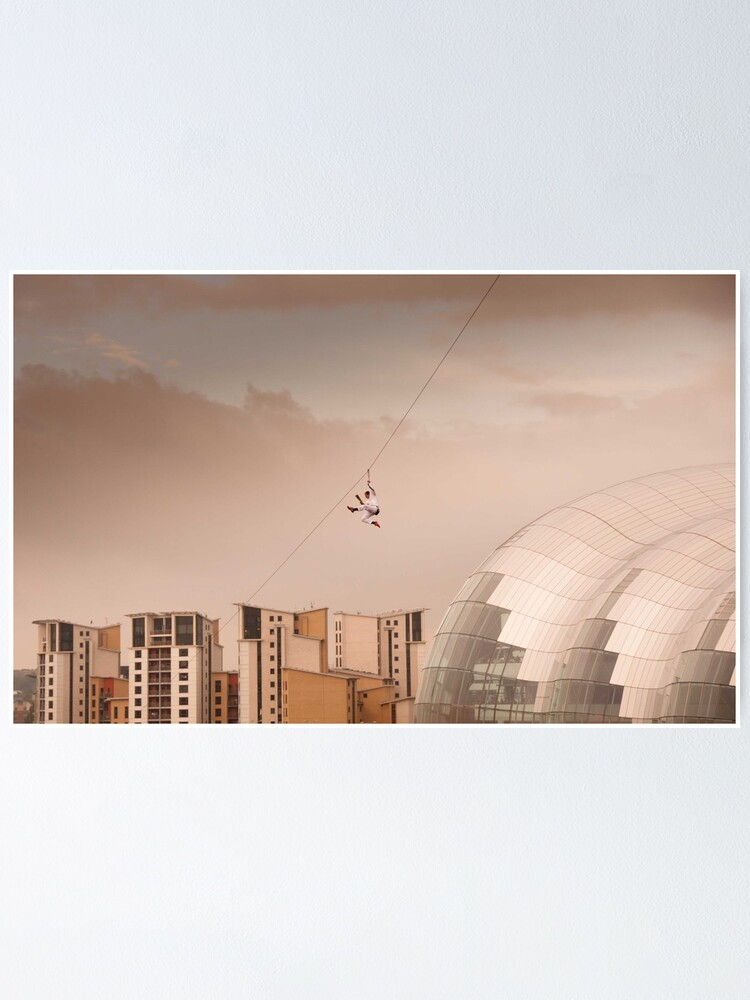 Alternate view of Zip Wire - Bear Grylls Poster