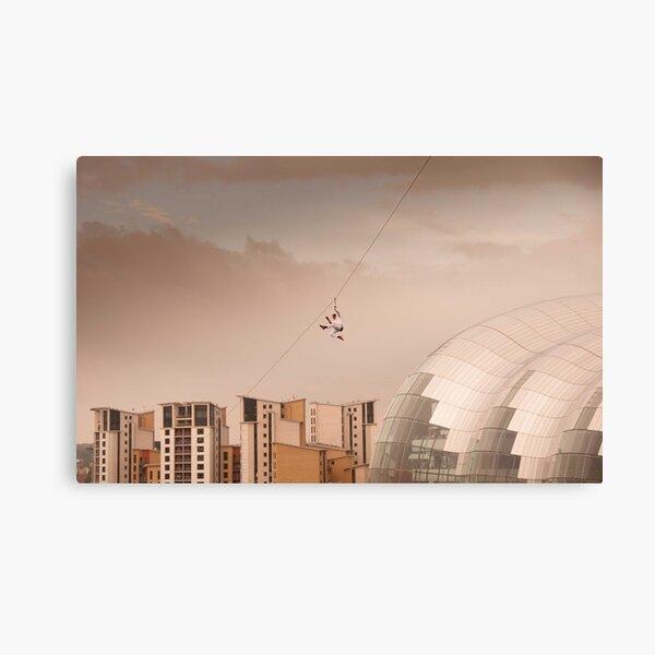 Zip Wire - Bear Grylls Canvas Print