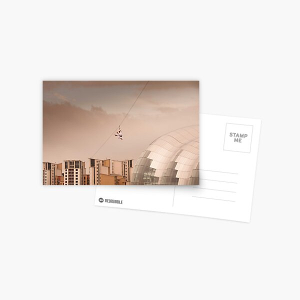Zip Wire - Bear Grylls Postcard