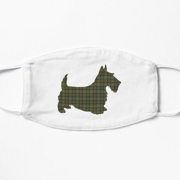 Gunn Weathered Scottish Clan Tartan Scottie Dog Mask