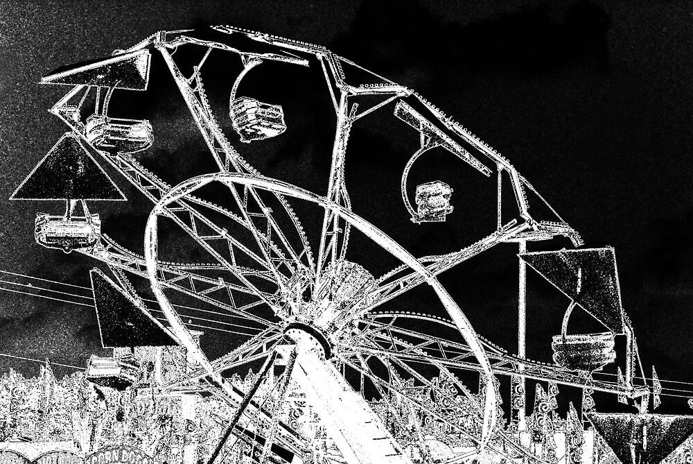 Circus Wheel by Kristine McKay Kinder