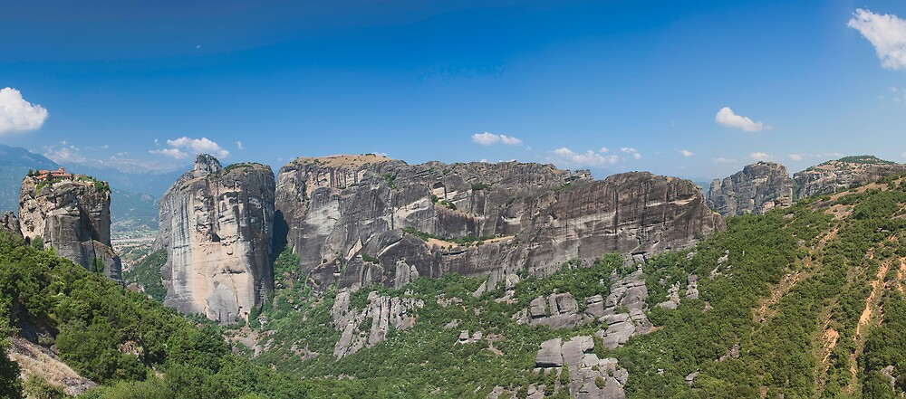 Meteora, Greece by TimKing