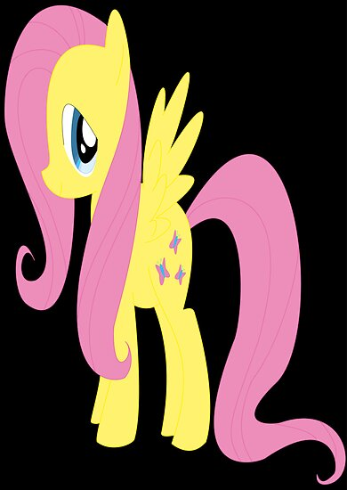 my little pony friendship is magic Fluttershy poster by fluttertree