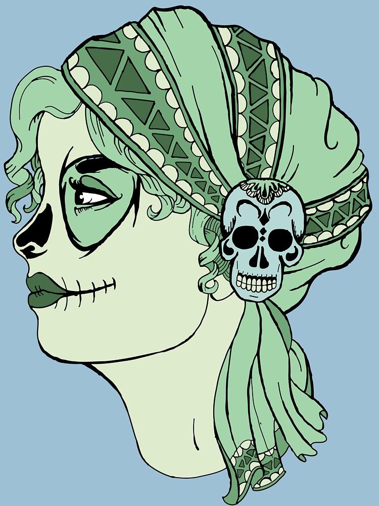 Dia de los Muertos Gypsy by JoeLong