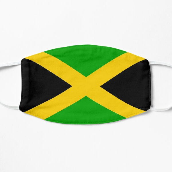 Jamaican Flag Face Mask Jamaica Mask