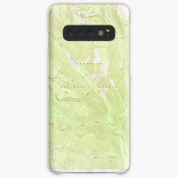 USGS Topo Map Washington State WA Mt Barney 242616 1969 24000 Samsung Galaxy Snap Case