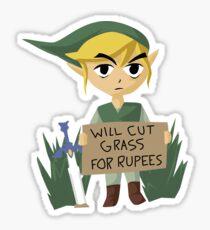 Looking For Work - Legend of Zelda Sticker