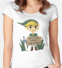 Looking For Work - Legend of Zelda Women's Fitted Scoop T-Shirt