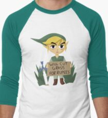 Looking For Work - Legend of Zelda Men's Baseball ¾ T-Shirt