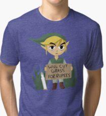 Looking For Work - Legend of Zelda Tri-blend T-Shirt