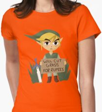 Looking For Work - Legend of Zelda Womens Fitted T-Shirt