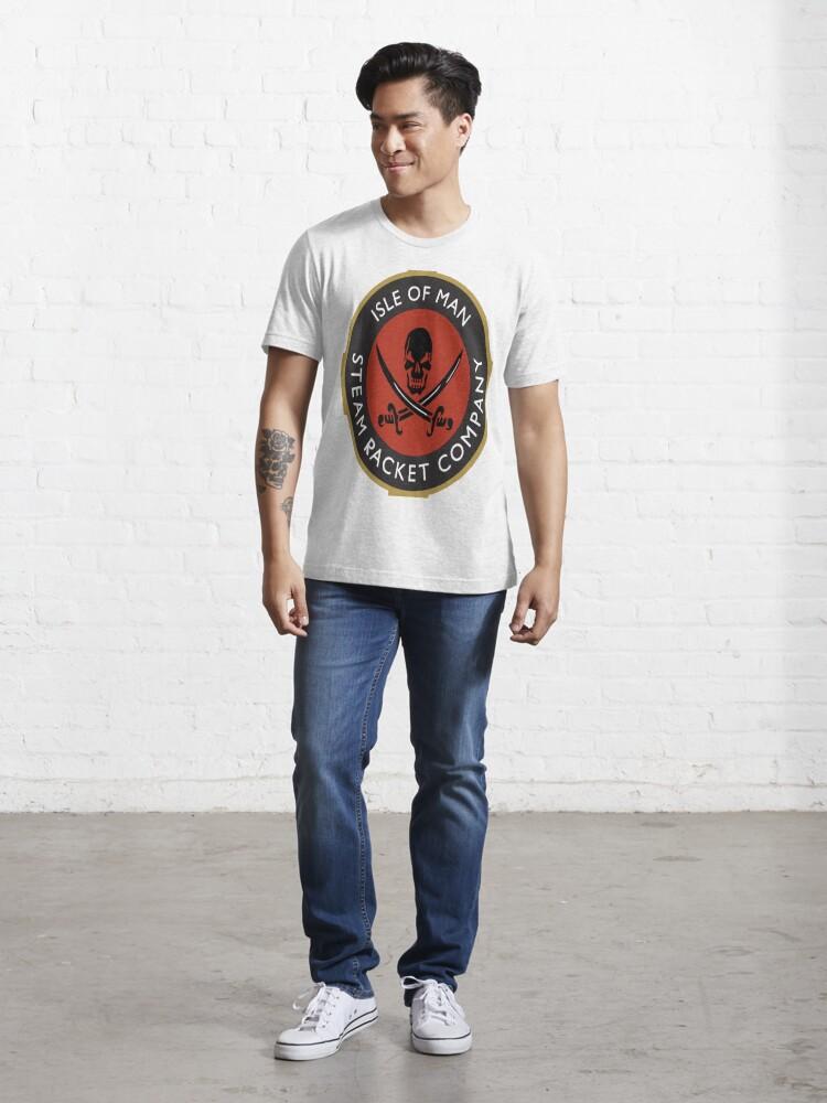 Alternate view of Isle of Man Steam Racket  Essential T-Shirt